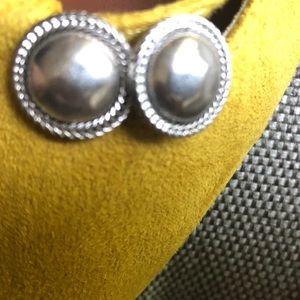 Lucky Brand Silver Stud Earrings